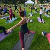 50% Off Opening Day of Yoga Rocks the Park