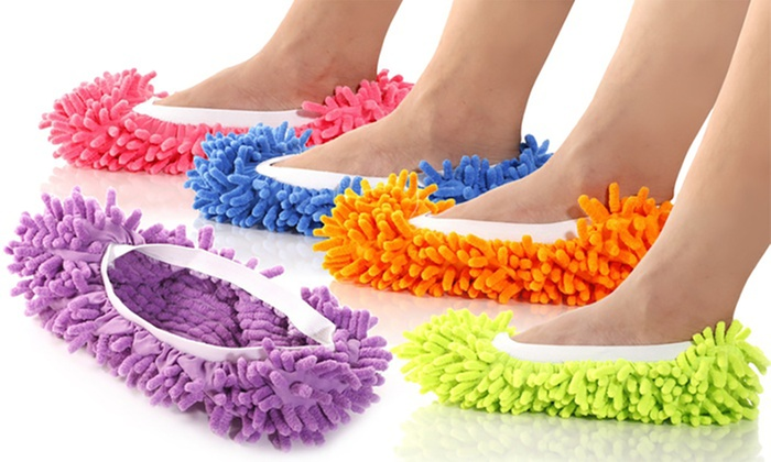 Groupon Goods Global GmbH: Fino a 5 paia di pantofole mop disponibili in 5 colori