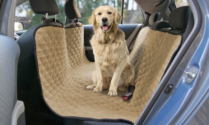 Pet Car Seat Covers >> Up To 28 Off On Pet Car Seat Protector Cover Groupon Goods