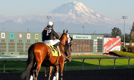 Emerald Downs Washington Cup with Race Program and Food and Drink Voucher on August 27 at 2 p.m.