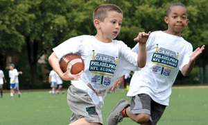 Philadelphia NFL Alumni Hero Youth Football Camps:  Philadelphia NFL Alumni Hero Non-Contact Youth Football Camp Instruction for Ages 6–14 (15 Locations, 5-Day Camps)