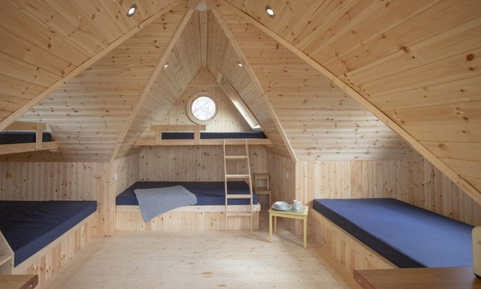 Lancashire or Cumbria: 1- or 2-Night Glamping for 8