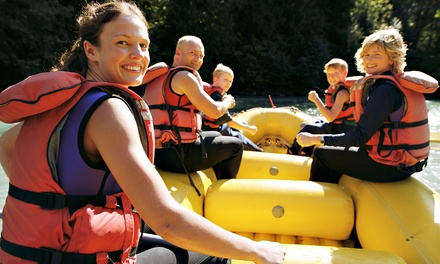 Whitewater Rafting on the Ocoee River from Sunburst Adventures (Up to 61% Off). Three Options Available.