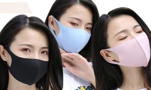 10 masques polyuréthane, 4 coloris