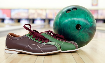 Tenpin Bowling with Shoe Hire - One ($6) or Two Games ($10) at Shellharbour Bowl, Warilla (Up to $18 Value)