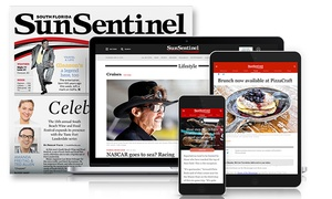 """Sun Sentinel"": One- or Two-Year Sunday Subscription to the ""Sun Sentinel"" (Up to 95% Off)"
