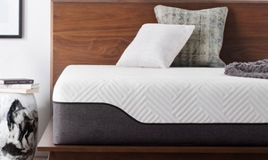 "Lucid 12"" Bamboo Charcoal and Aloe Vera Hybrid Mattress"