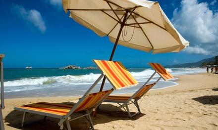 Journée à la plage pour 2 personnes comprenant cocktail, transat, parasol et 1h de pédalo à 34 € à La Plage des Artistes