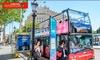 City Sightseeing - Varias localizaciones: Ruta turística en autobús de 1 o 2 días para adulto, niño o senior en ciudad a elegir desde 9 € con City Sightseeing