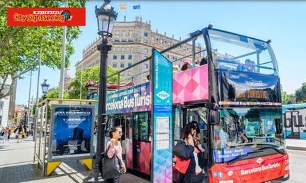Ruta turística en autobús de 1 o 2 días para adulto, niño o senior en ciudad a elegir desde 6 € con City Sightseeing