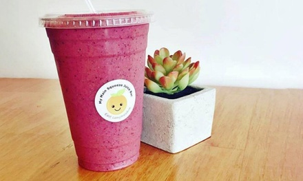 $19 for Three Groupons: Each Good for a $10 Gift Card for Juices & Smoothies ($30 Value)