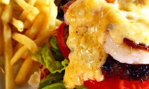 CAVs Restaurant: Bistro Cuisine at CAVs Restaurant (Up to 43% Off). Three Options Available.