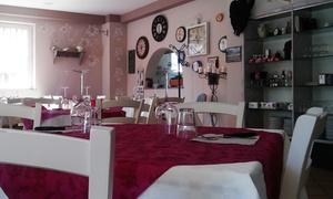 Ristorante Pizzeria Villa Costa: Menu carne completo con calice di vino per 2 o 4 persone al Ristorante Pizzeria Villa Costa (sconto fino a 59%)