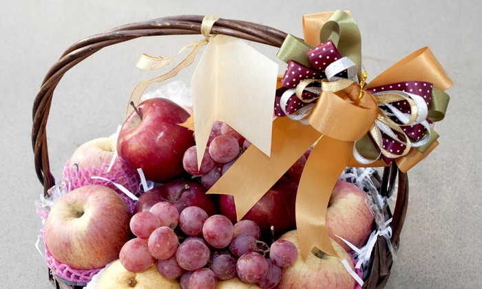 Make Someone Happy Flower Shop - West Sayville: $98 for $179 Worth of Gift Baskets — Make Someone Happy Flower Shop