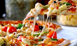 Ristorante Collalto: Menu pizza con antipasto, dolce e birra per 2 o 4 persone da Ristorante Collalto (sconto fino a 63%)