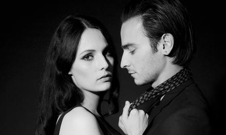 Shooting photo special St Valentin en duo avec maquillage professionnel, 2 tirages 15×20 et une coupe champagne à 29,90€
