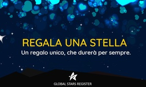 Global Stars Register : Regala una stella alla persona che ami. Un regalo unico e speciale che durerà per sempre