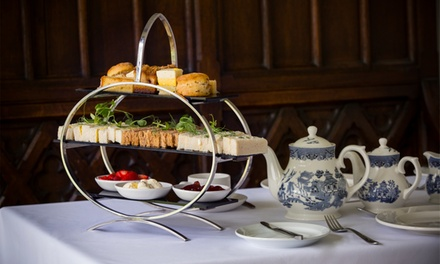 Traditional Afternoon Tea with Optional Glass or Bottle of Prosecco for Two at New Place Hotel