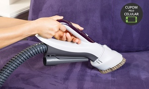 Lavar Seco: Lavar Seco – Taguatinga: higienização de sofá (opção com impermeabilização)