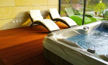 Desembocadura del Miño: 1, 2 o 3 noches para 2 con spa, detalle, desayuno o media pensión en Hotel Prazer da Natureza 4*
