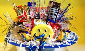 Lollipop Land: Candy or Create-Your-Own Candy Gift Basket at Lollipop Land (Up to 72% Off)