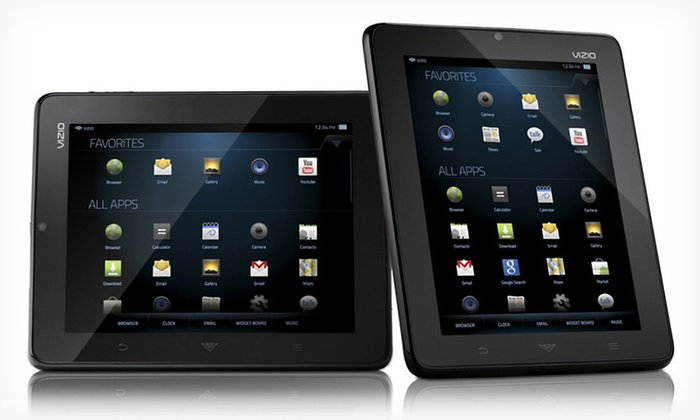 """Vizio 8"""" Tablet with WiFi: $134.99 for a Vizio 8"""" Tablet with WiFi (Manufacturer Refurbished) ($249.99 List Price). Free Shipping and Free Returns."""