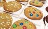 Menú de batidos y galletas