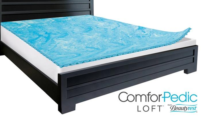 Beautyrest Comforpedic Loft 2 Quot Gel Memory Foam Reversible