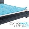 "Beautyrest Comforpedic Loft 2"" Gel Memory Foam Reversible Topper"