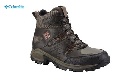 נעלי טרקים לגברים מבית Columbia, לנוחות ובידוד מעולים בתנאי קור עז, רוח ושלג