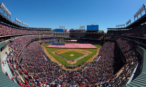 Texas Rangers — Up to 53% Off Baseball Game  at Texas Rangers, plus 6.0% Cash Back from Ebates.