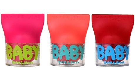 Pack de 3 bálsamos labiales Maybelline Baby