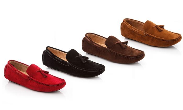Franco Vanucci Men's Tassel Loafers