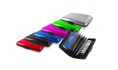 Fino a 6 portafogli in alluminio disponibili in diversi colori