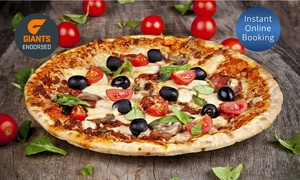 Manly Pizza & Wine: Two-Course Italian with Two Glasses ($39) or Bottle of Wine ($49) for Two People at Manly Pizza & Wine (Up to $98 Value)