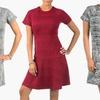 Sociology Women's Plus-Size Space-Dye Flippy Dress