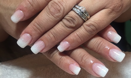 Manicure Services atElite Serenity Salon Spa (Up to 51% Off). Three Options Available.