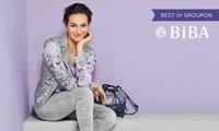 Wertgutschein über 50 € anrechenbar auf das gesamte Fashion-Sortiment in teilnehmenden BiBA Boutiquen