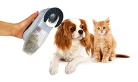 One or Two Cordless Massaging Hair Vacuums for Pets from AED 49 (Up to 70% Off)