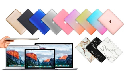 coque de protection macbook air et pro de 11 13 et 15 pouces coloris au choix d s 7 90. Black Bedroom Furniture Sets. Home Design Ideas