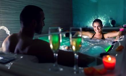 Masaje individual o en pareja con opción a jacuzzi privado, copa de cava y bombones desde 29,90 € en MiSpa Centro E.I.S