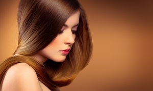 Jaun @ Cutting Ends: Brazilian Blowout from R499 with Optional Cut at Jaun @ Cutting End's (Up to 77% Off)