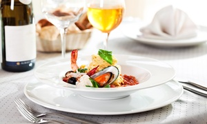 Luna Blu: Italian Lunch or Dinner for Two at Luna Blu (Up to 50% Off)