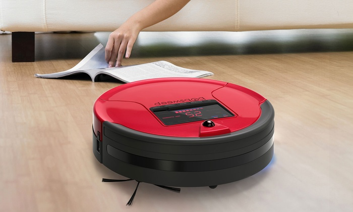 Groupon Goods: Bobsweep PetHair Robot Vacuum Cleaner and Mop (Shipping Included)