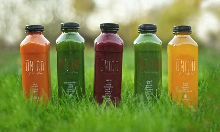 Unico Juice Shop - North Park: $95 for $190 Groupon — ÚNICO Juice Shop