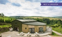West Yorkshire: 1 Night for 2, 4 or 6 with Breakfast, Wine, Vineyard Tour and Wine Tasting at Holmfirth Vineyard