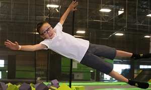 One-hour Big Air Jump Sessions For Two Or Four Or A Party For Up To 10 At Get Air Spokane (up To 45% Off)