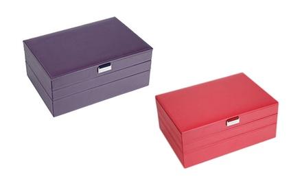 Set de 3 joyeros Supersize en color rojo o morado por 55,99 € (63% de descuento)