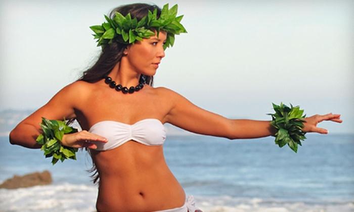 Carol's Polynesian Dance Studio - Langley: Four Beginner Polynesian-Dance Lessons for One or Two at Carol's Polynesian Dance Studio (Up to 56% Off)