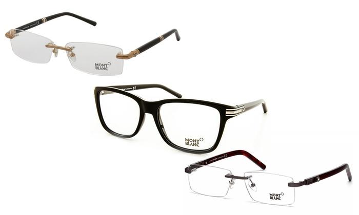 341184c7da9 Montblanc Men s Designer Optical Glasses
